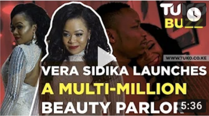 Vera Sidika Launches Her Multi Million Beauty Parlor